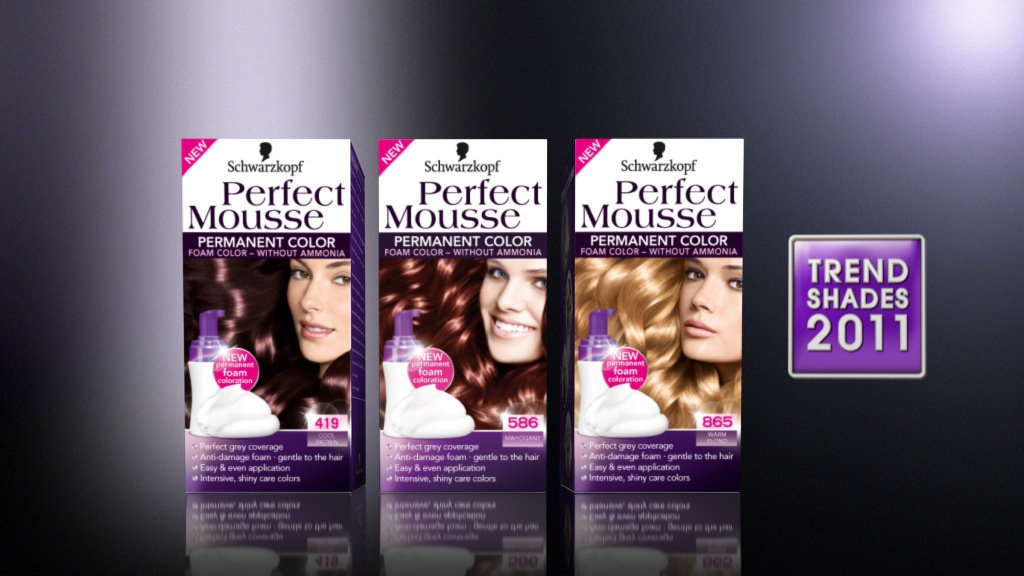 Perfect Mousse Produktvisualisierung