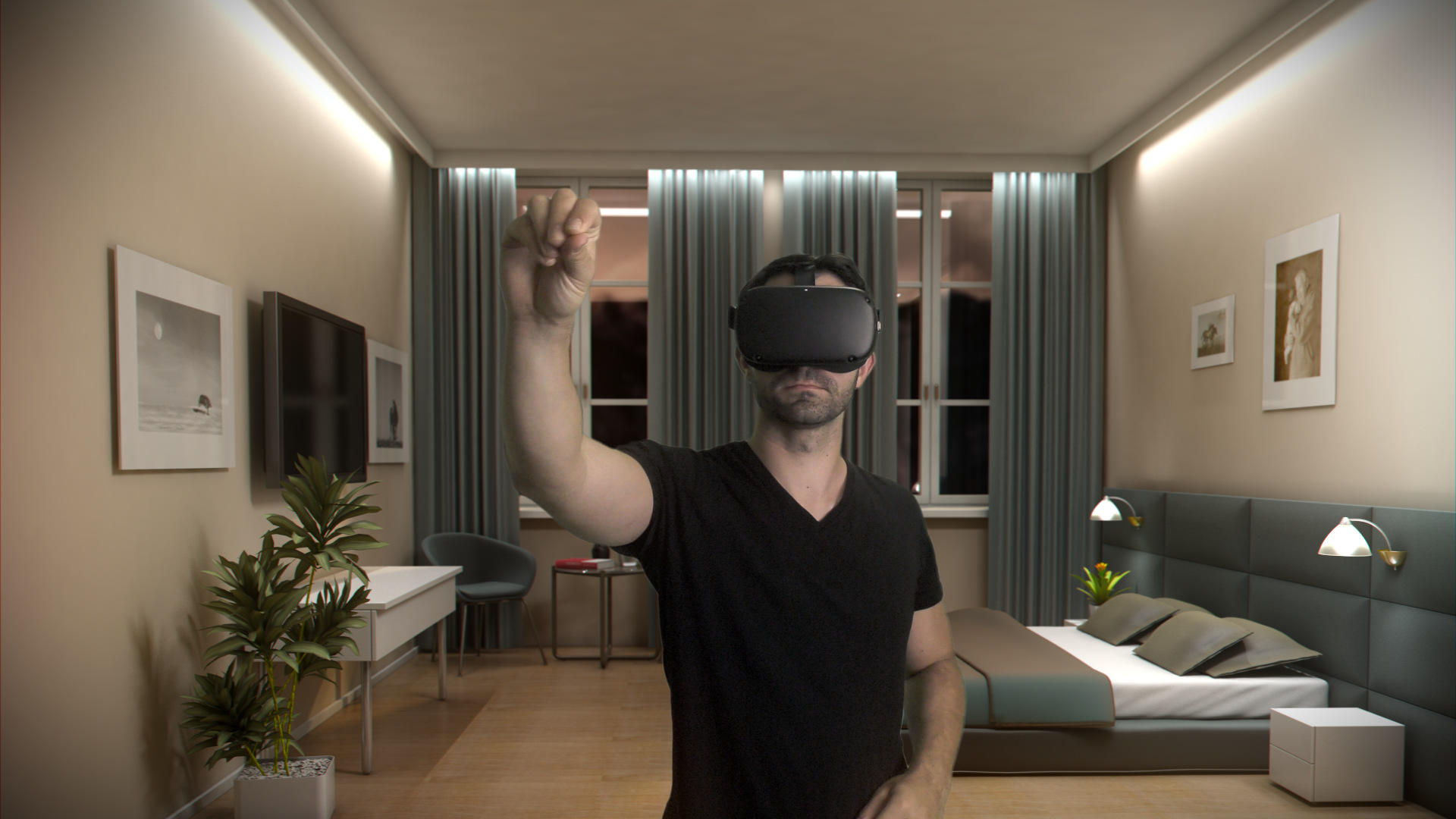 Virtual Reality Industrie Visualisierung