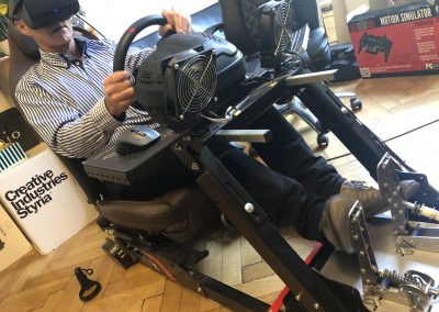 VR Sim Racing Motion Rig Simwind pro pedals