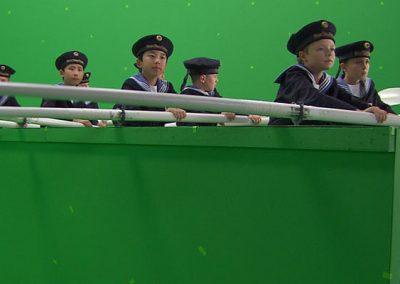 Green Screen Wiener Sängerknaben